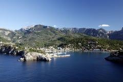 Porto de Soller, Mallorca, Mallorca, Espanha Fotos de Stock Royalty Free