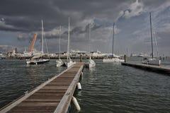 Porto de Southampton Fotos de Stock