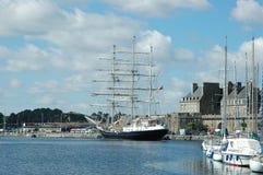 Porto de St.Malo Fotos de Stock