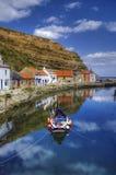 Porto de Staithes fotos de stock royalty free