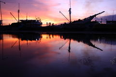 Porto de Sunda Kelapa, Jakarta Imagem de Stock Royalty Free