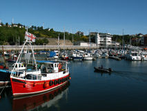 Porto de Sunderland Fotografia de Stock Royalty Free