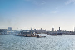 Porto de Tallinn imagem de stock