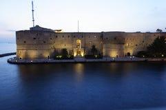 Porto de Taranto Imagem de Stock Royalty Free