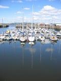 Porto de Tayport, Fife, Foto de Stock Royalty Free