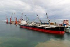 Porto de Toamasina (Tamatave), Madagáscar Fotografia de Stock