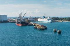 Porto de Toamasina Tamatave, Madagáscar Fotografia de Stock Royalty Free