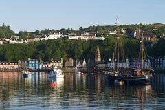 Porto de Tobermory Imagens de Stock