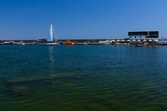 Porto de Tomis em Constanta Romênia Fotos de Stock Royalty Free