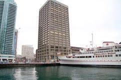 Porto de Toronto Foto de Stock Royalty Free