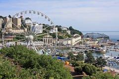 Porto de Torquay Fotografia de Stock