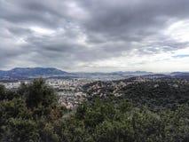 Porto de Toulon fotografia de stock royalty free