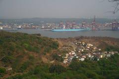 Porto de transporte na Índia Foto de Stock