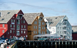 Porto de Tromso, Noruega imagem de stock royalty free