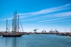 Porto de Valência Imagem de Stock Royalty Free