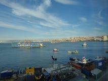 Porto de ValparaÃso - Imagens de Stock