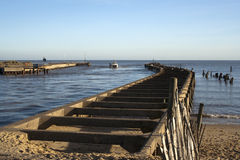 Porto de Walberswick, Suffolk, Inglaterra Fotografia de Stock Royalty Free
