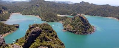Porto de Whangaroa imagem de stock royalty free