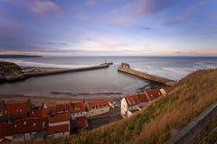 Porto de Whitby Foto de Stock Royalty Free