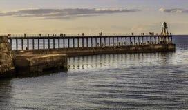 Porto de Whitby Fotos de Stock Royalty Free