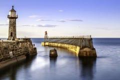 Porto de Whitby Fotografia de Stock