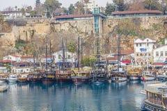 Porto de Yatch Fotografia de Stock Royalty Free