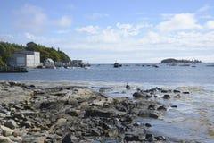 Porto degli inquilini in Maine Immagini Stock