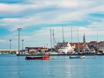 Porto degli yacht Fotografie Stock