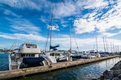 Porto degli yacht Immagini Stock