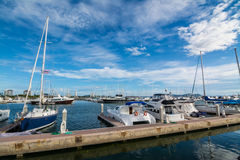 Porto degli yacht Fotografia Stock