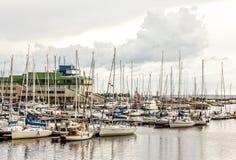 Porto degli yacht Immagini Stock Libere da Diritti