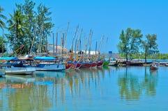 Porto dei pescatori Fotografie Stock Libere da Diritti
