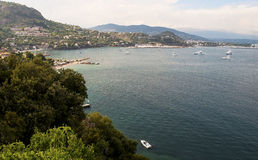 Porto del mer del sur del theoule in Francia Immagini Stock Libere da Diritti