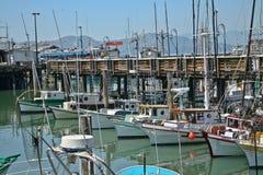 Porto del molo di Fishermans fotografie stock libere da diritti