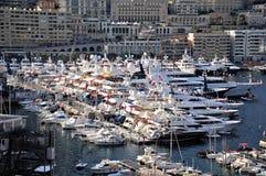 Porto del Monaco. Immagini Stock