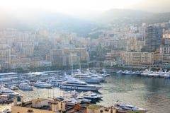 Porto del Monaco Fotografie Stock