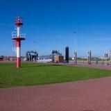 Porto del norderney (Mare del Nord) Fotografia Stock Libera da Diritti