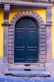 Porto del palazzo europeo antico Fotografia Stock
