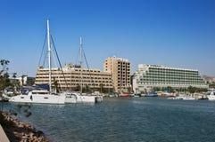 Porto del porticciolo alla città di Eilat Fotografie Stock