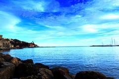 Porto del rapallo Fotografia Stock