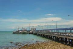 Porto del traghetto Fotografie Stock