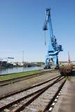Porto del trasporto Immagine Stock