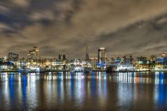 Porto dell'arcobaleno fotografie stock libere da diritti