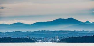 Porto dell'isola BC Canada di Nanaimo Vancouver fotografia stock