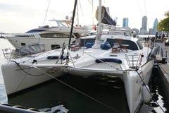 Porto dell'yacht della baia e porticciolo del nord 44 Immagine Stock