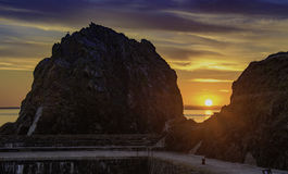 Porto della baia del montante Fotografia Stock