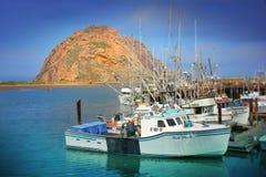 Porto della baia di Morro, baia di Morro - California Fotografia Stock Libera da Diritti