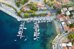 Porto della barca Immagine Stock Libera da Diritti
