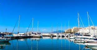 Porto della barca Fotografia Stock