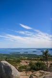 Porto della barra, Maine Immagini Stock Libere da Diritti